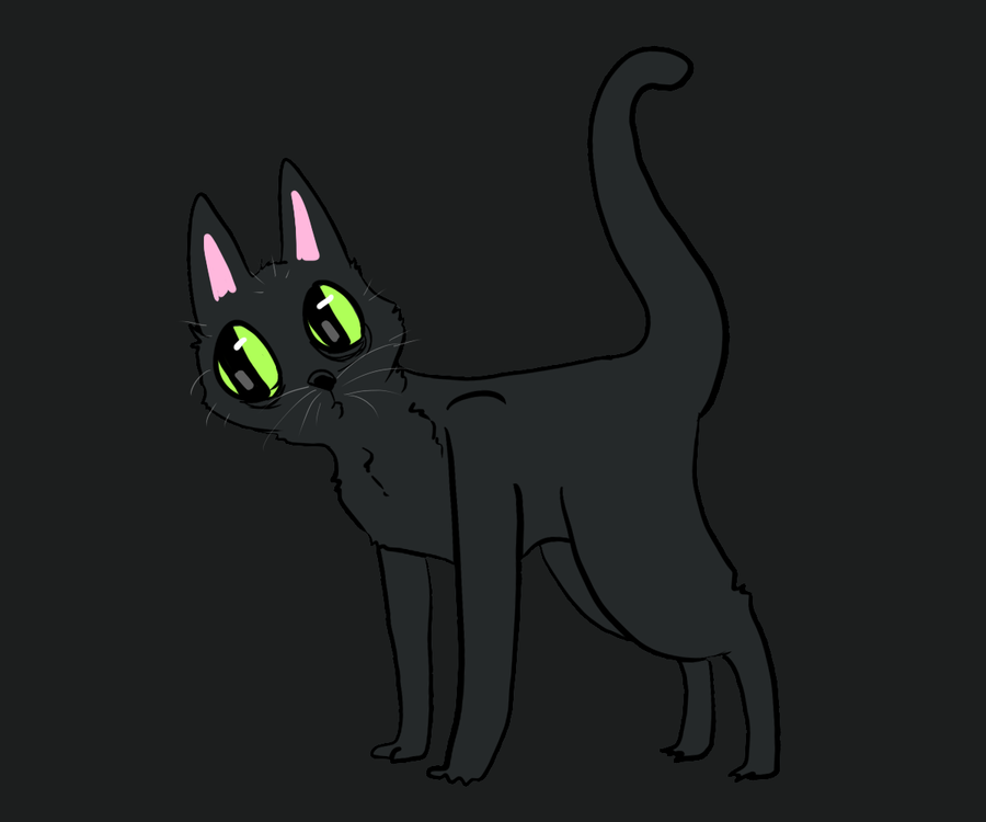 cat butt by HauntedHomo