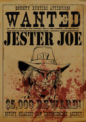 Wanted Dead or Alive by HuseyinSekerciler