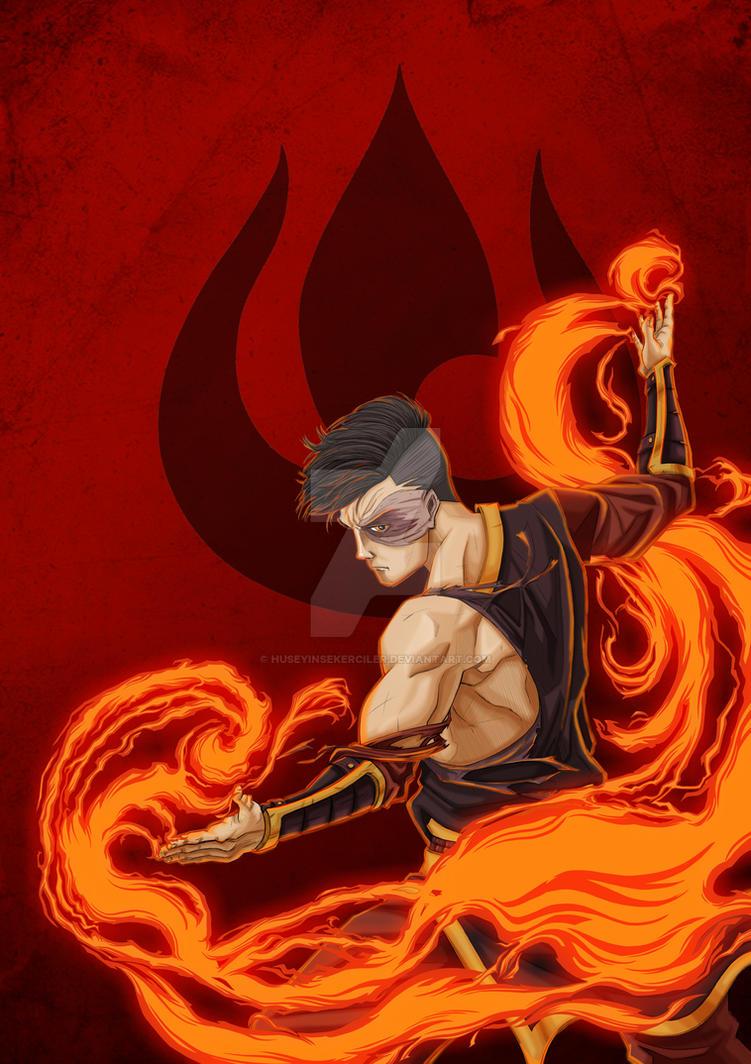 Adult Zuko from Avatar by HuseyinSekerciler