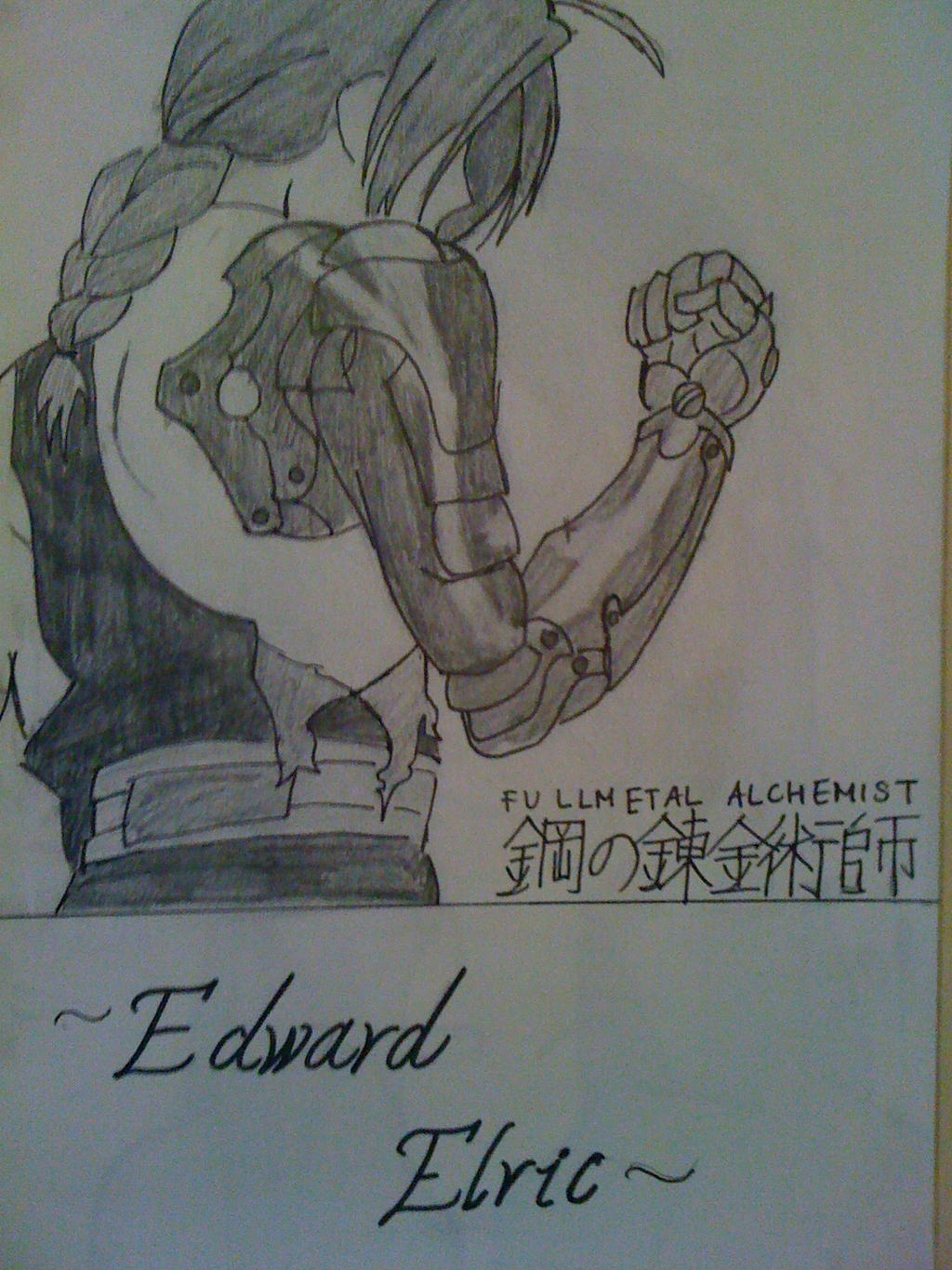 Edward Elric by nekoduchess