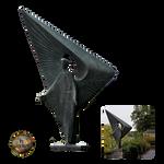 Angel statue - png - by darkmoon