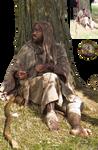 mendicant - beggar PNG