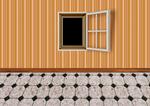 empty room with window 01