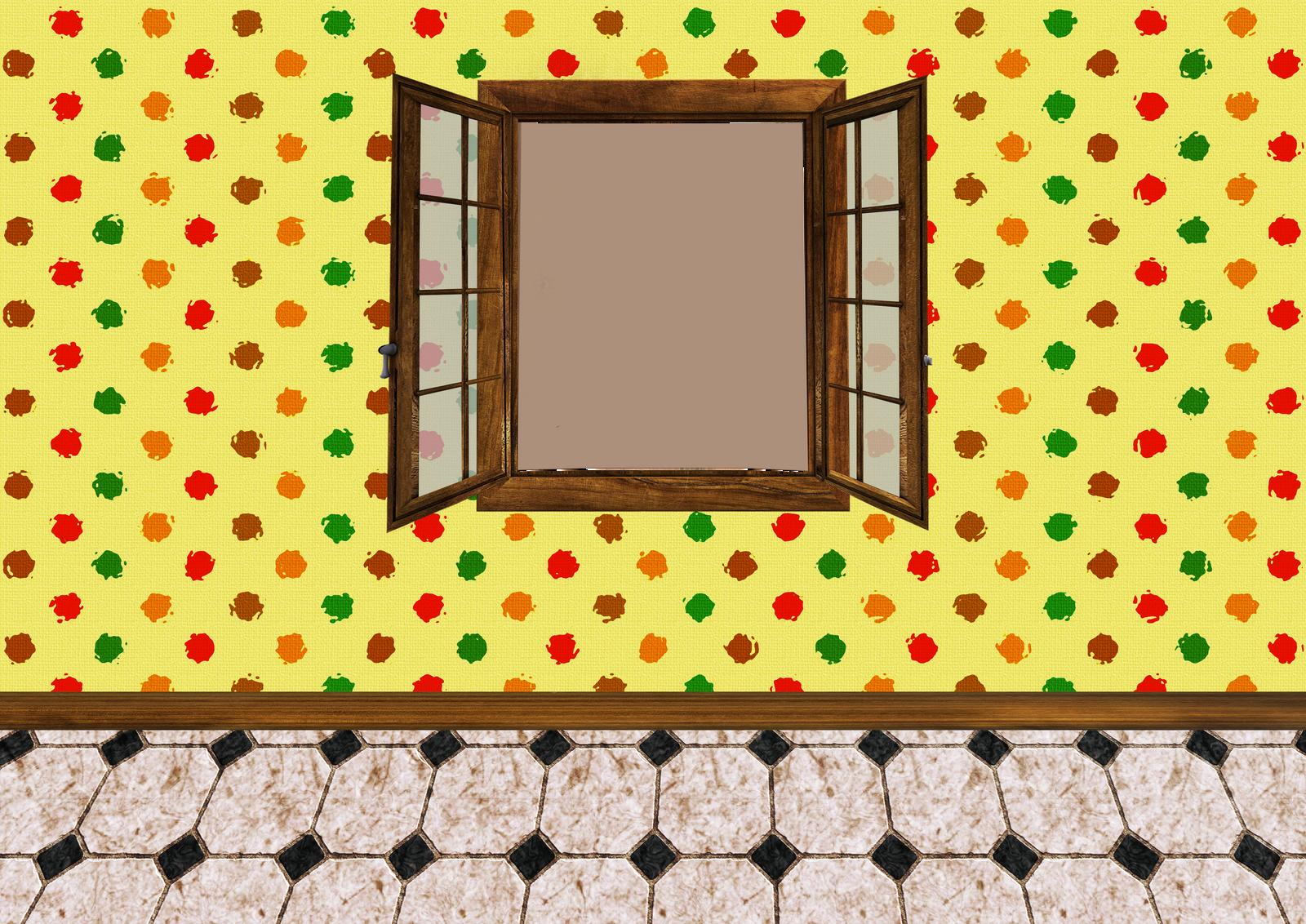 empty room with window 03