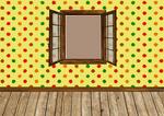 empty room with window 04
