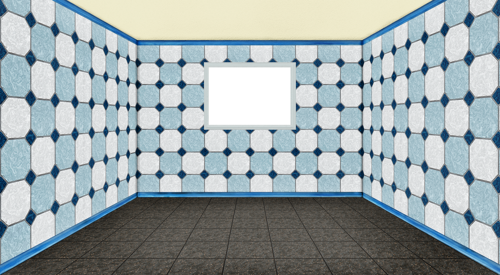 empty room with window - 3D - PNG - 01