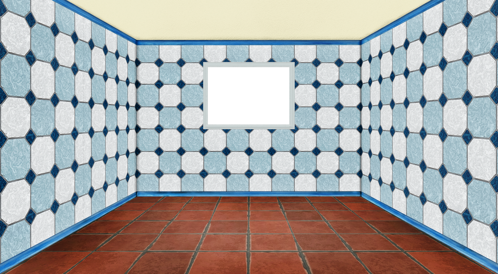 empty room with window - 3D - PNG - 02