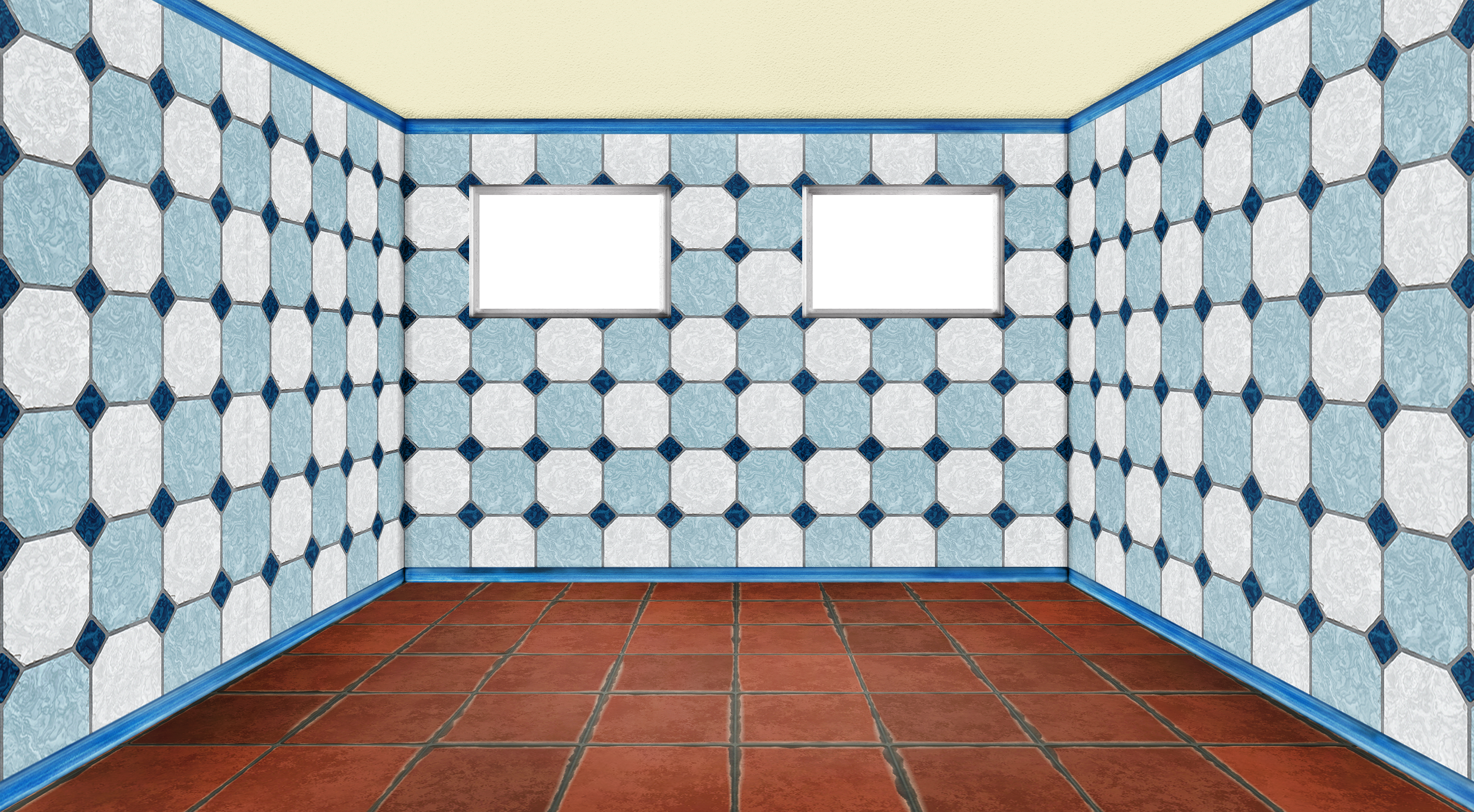 empty room with window - 3D - PNG - 03