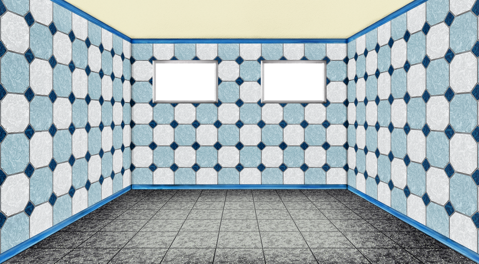 empty room with window - 3D - PNG - 04