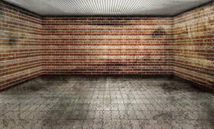empty room - 3D - garage 02