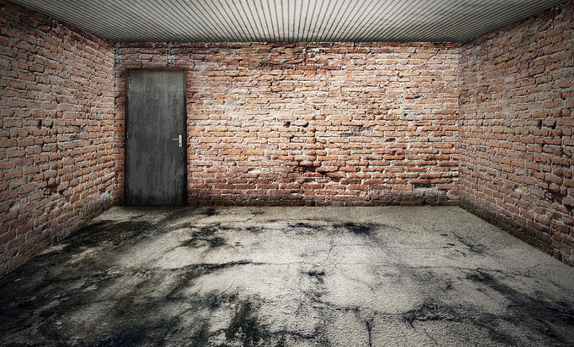 empty room - 3D - garage 06 by darkmoon1968