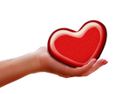 Give a heart - PNG