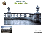 Old balcony PNG stock