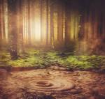 fairy tale background 04 - fantasy premade stock