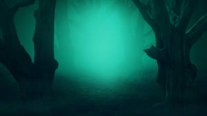 Mysterious clearing - Premade background by Dark-WorkX