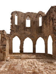 Medieval ruin - PNG - CC0