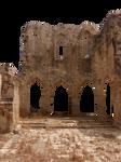 Medieval ruin - PNG - CC0 by Darkmoon-Art-de