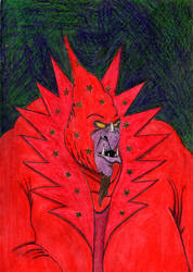 The Red Wizard Ommadon