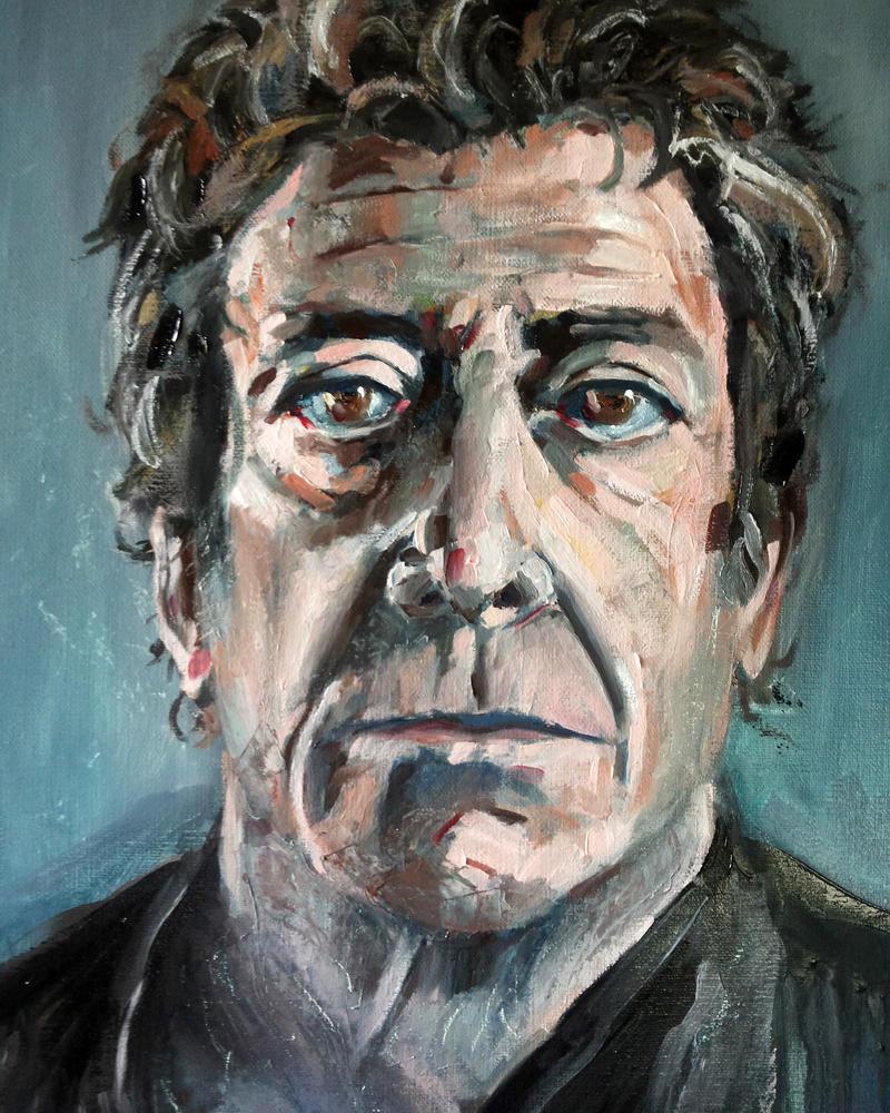 Lou Reed Portrait by francescomonk