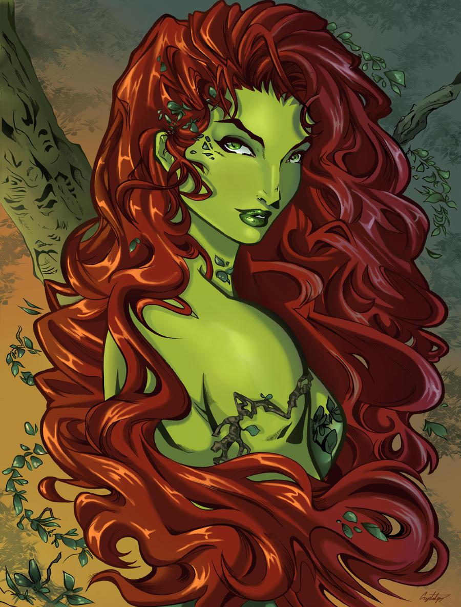 Poison, Poison Ivy by ArtCrawl
