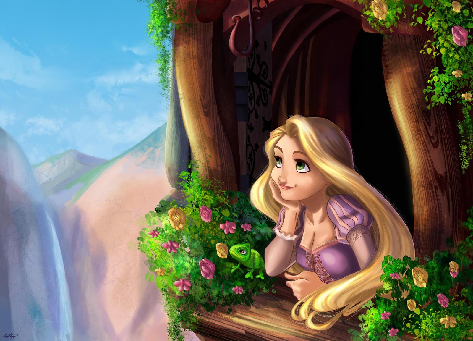 Rapunzel by ArtCrawl