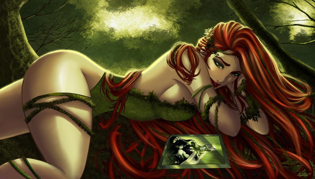 Poison Ivy in Love by ArtCrawl