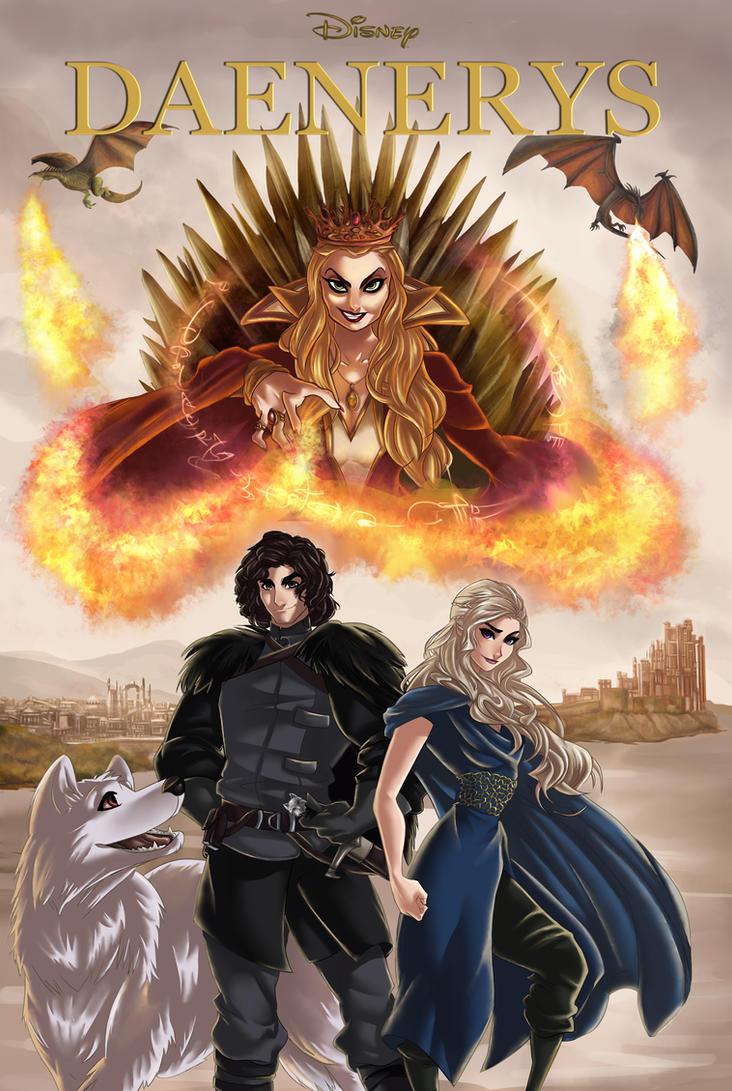 Daenerys by ArtCrawl