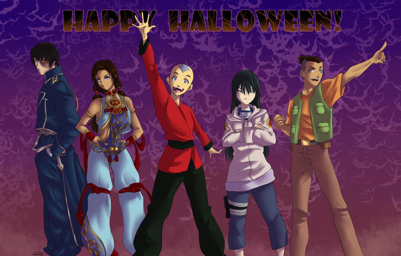 Halloween Gaang by ArtCrawl
