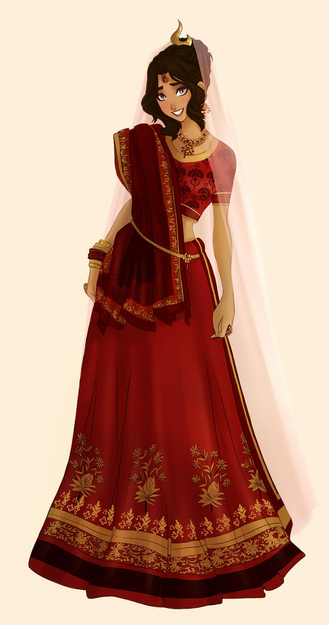 Katara in Red by ArtCrawl