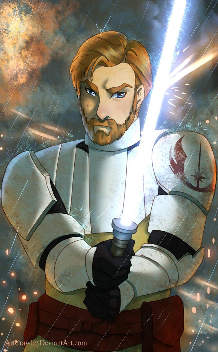 Obi-wan Kenobi by ArtCrawl