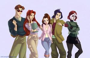 X-men: Evolution by ArtCrawl