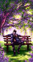 Zutara Week Day 4: Lilac by ArtCrawl