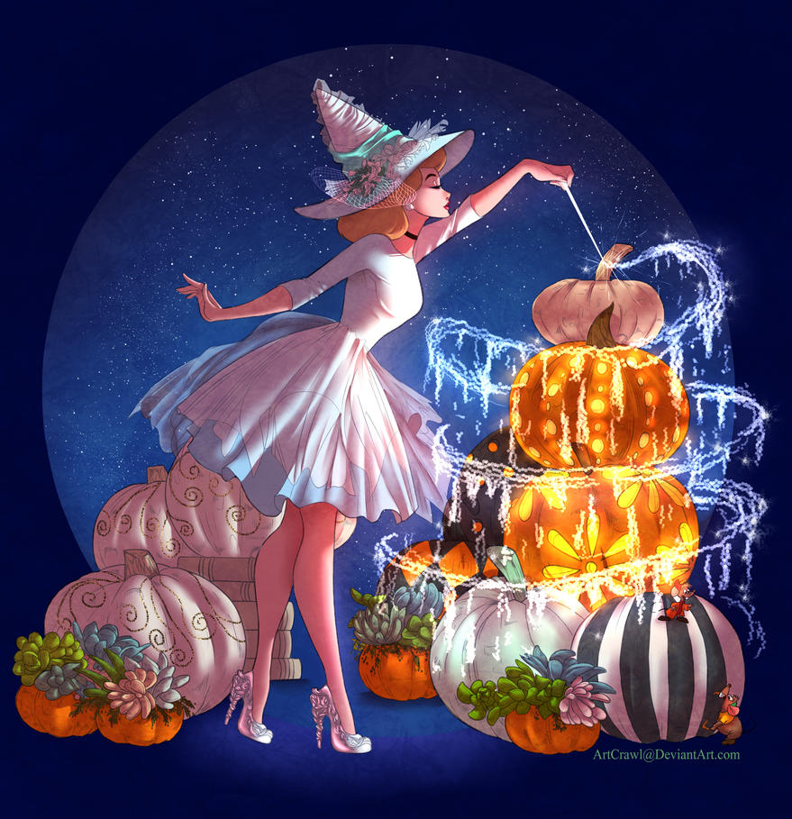 witchsona cinderella by artcrawl speedpaint 52 by sylar113 happy halloween by