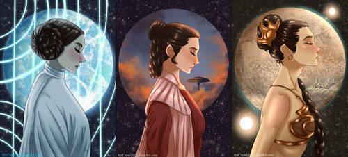 A Princess Among Stars by ArtCrawl