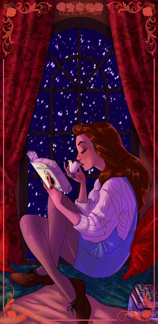 Secret Santa: Belle by ArtCrawl
