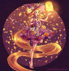Witchsona: Rapunzel by ArtCrawl