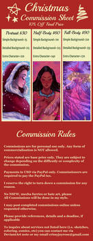Christmas Commission Info