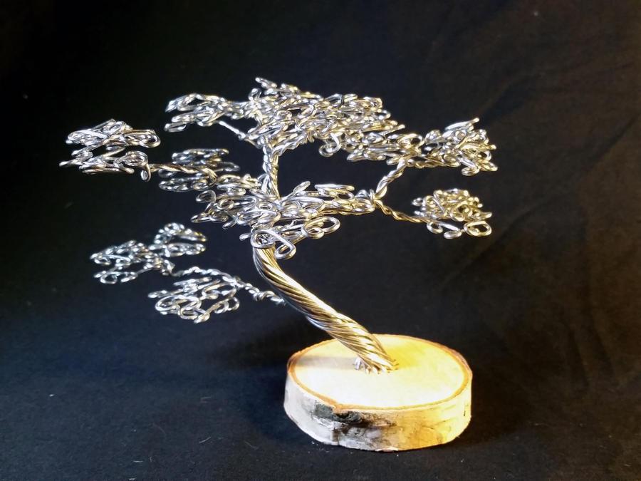 Silver on Birch 2 by angelhitsground