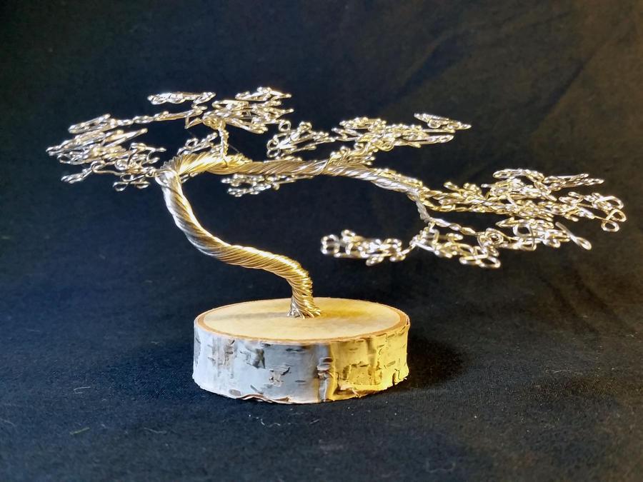 Silver on Birch by angelhitsground