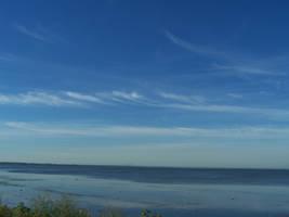 Lake Saint Louis sky - 2 by Hermit-stock