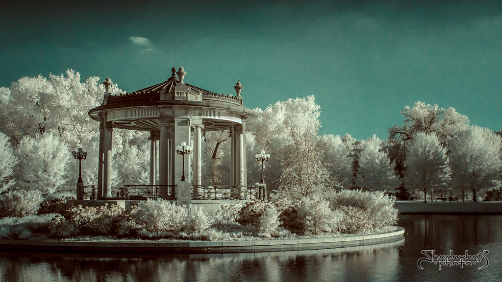 Forest Park Gazebo by mauthbaux