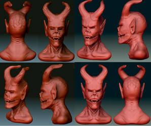 Demon Head Concepts.