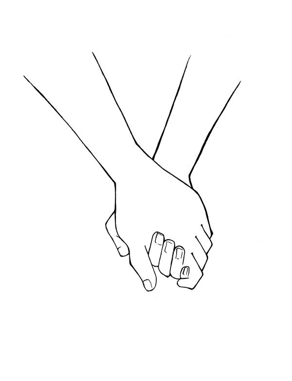 The gallery for --> Drawing Of Holding Hands Tumblr
