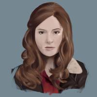 Amy Pond by DaSporkQueen