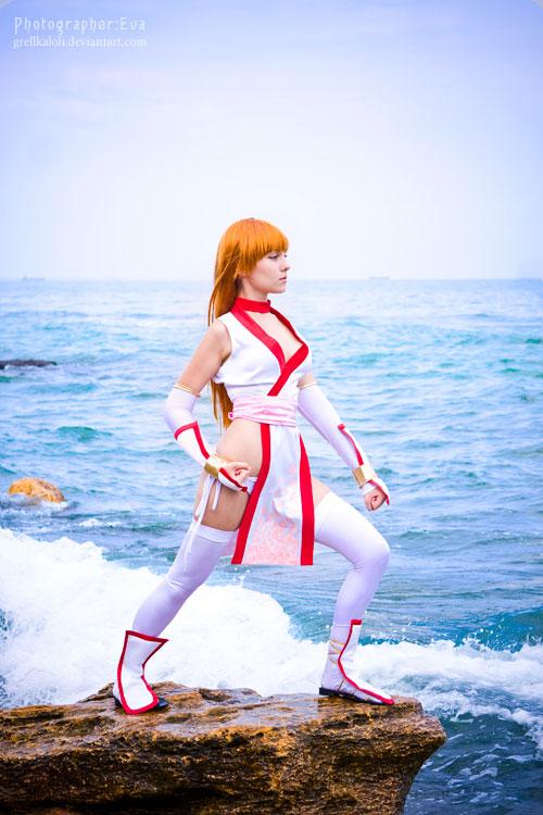Dead or Alive Kasumi cosplay 4 by grellkaLoli