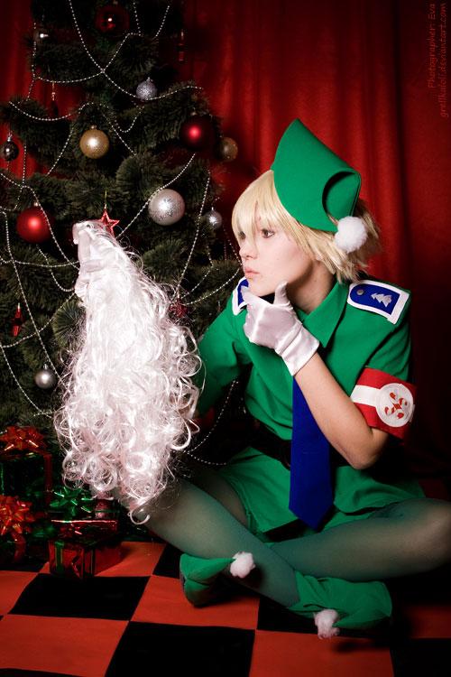 Hellsing Schrodinger Christmas 6 by grellkaLoli on DeviantArt
