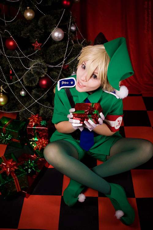Hellsing Schrodinger Christmas 9 by grellkaLoli