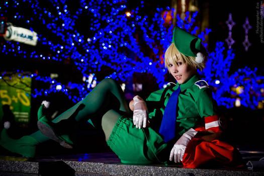Hellsing Schrodinger Christmas 18