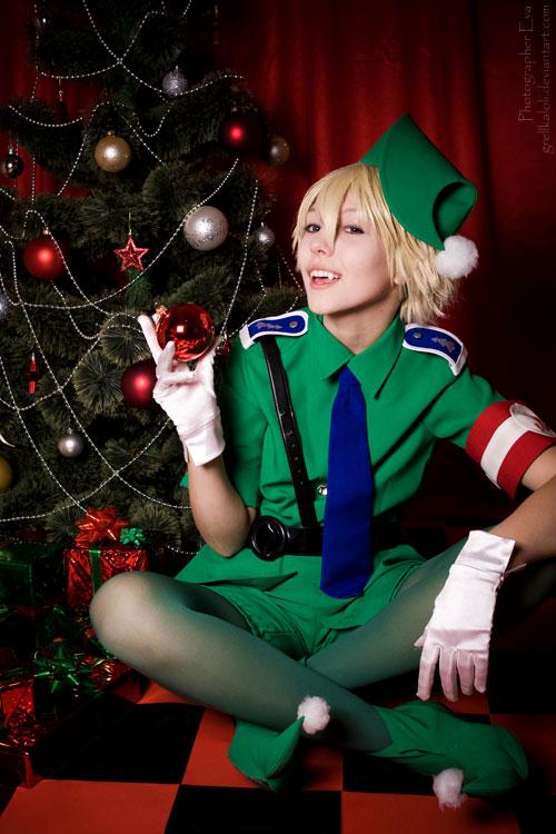 Hellsing Schrodinger Christmas 20 by grellkaLoli on DeviantArt