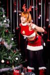 Kasumi Christmas New Year costume 2